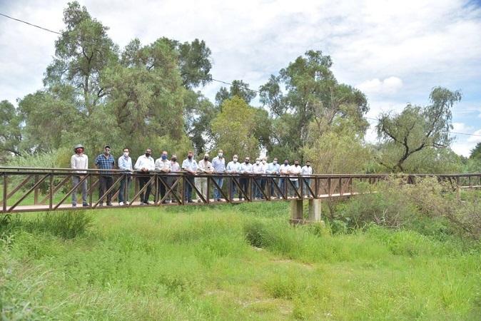 Buscan construir corredor ambiental en el Río San Pedro en el municipio de Jesús María