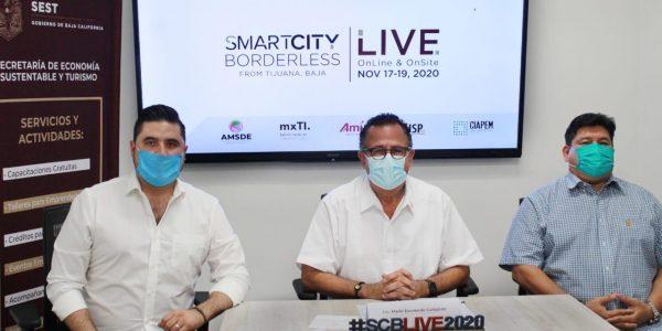 """Presentan """"Congreso de Ciudades Inteligentes sin Fronteras"""" con sede en Tijuana"""