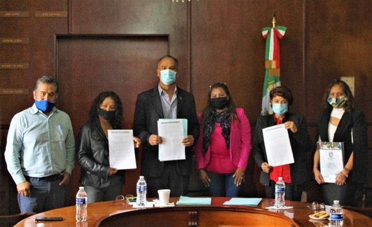 Firman convenio de colaboración municipio de Jesús María y Mujer Contemporánea