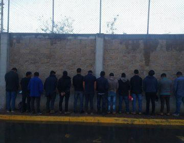 Detienen a tres sujetos por tráfico de 32 migrantes indocumentados en Aguascalientes