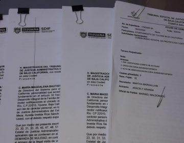 Demandan a titular de Coepris por clausura de unidad médica en Tijuana y almacenes del DIF