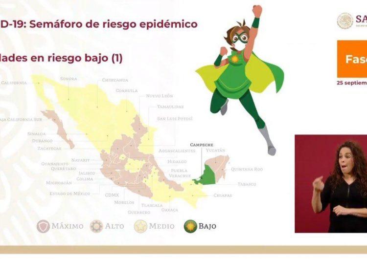 Retoma Campeche con semáforo verde