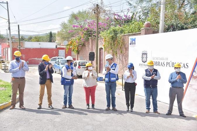 Arranca programa de obra pública en tres localidades de Jesús María