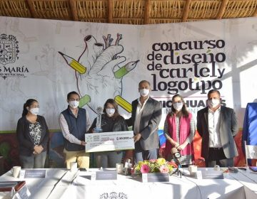 Premian a ganadores del concurso de cartel y logotipo de la Feria de los Chicahuales
