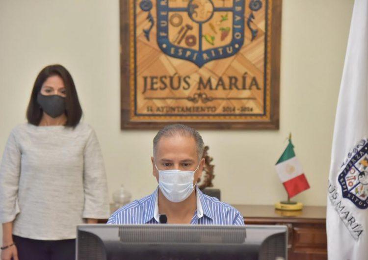 Rendirá alcalde de Jesús María su informe de gobierno el 15 de octubre