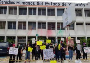 Protestan vs DH de Yucatán y Campeche