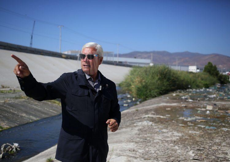 Falso que contratos para limpiar río Tijuana estén publicados como dijo el gobernador