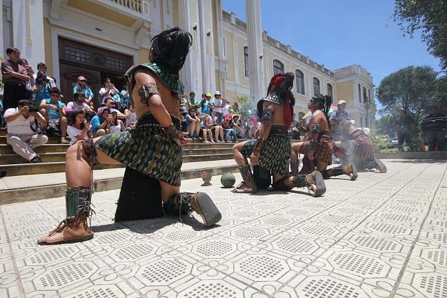 Preparan travesía  Maya hasta Cuzco, Perú