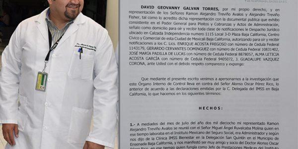 Empresarios estafados por Pérez Rico piden al IMSS denunciarlo penalmente por delitos como funcionario público
