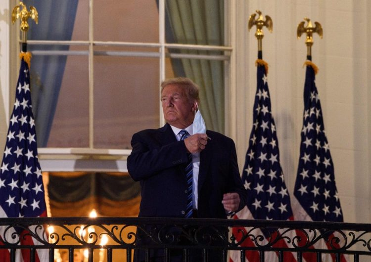 """""""¡Me siento mejor que hace 20 años!"""": Trump deja el hospital a cuatro días de dar positivo a COVID"""