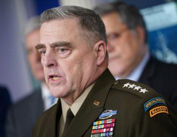 Se aíslan altos mandos militares de EU tras posible exposición a COVID-19