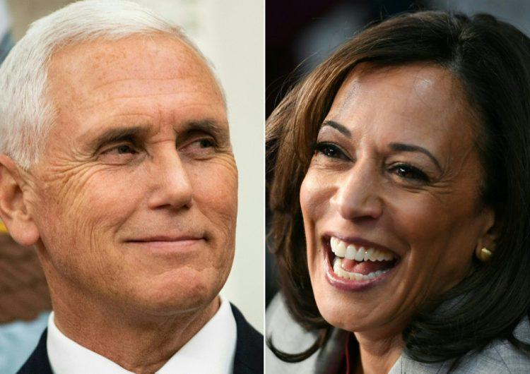 Los candidatos a vicepresidente de Estados Unidos entran en la arena de los debates
