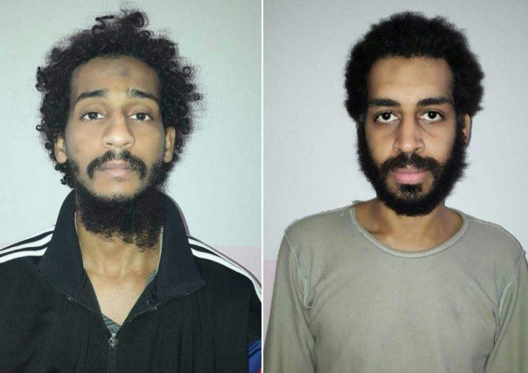 """Dos miembros del Estado Islámico conocidos como los """"Beatles"""" serán extraditados y juzgados en EU"""