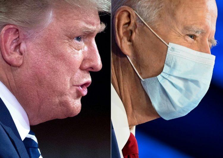Trump y Biden se enfrentan a distancia por televisión en una campaña alterada por el COVID-19