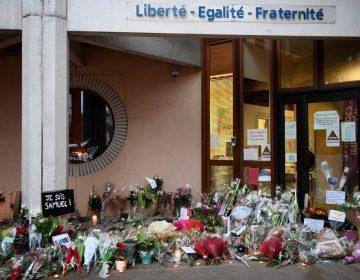 Nueve detenidos en Francia tras la decapitación de un profesor cerca de París