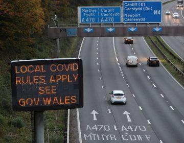 Reino Unido: Gales aprueba dos semanas de confinamiento a sus tres millones de habitantes