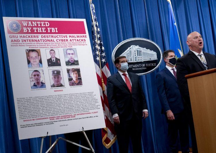 EU acusa a seis agentes de inteligencia militar rusa de ciberataques globales
