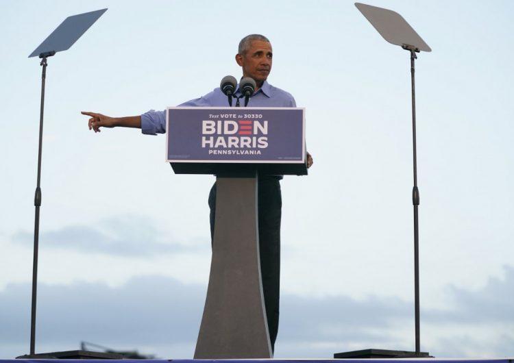 """""""Esto no es un reality show"""": Obama se lanza contra Trump y pide el voto masivo para Biden"""