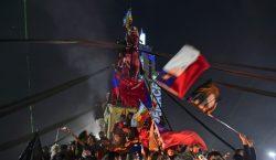 """""""Chile despertó"""": abrumadora mayoría vota por derogar la constitución de…"""