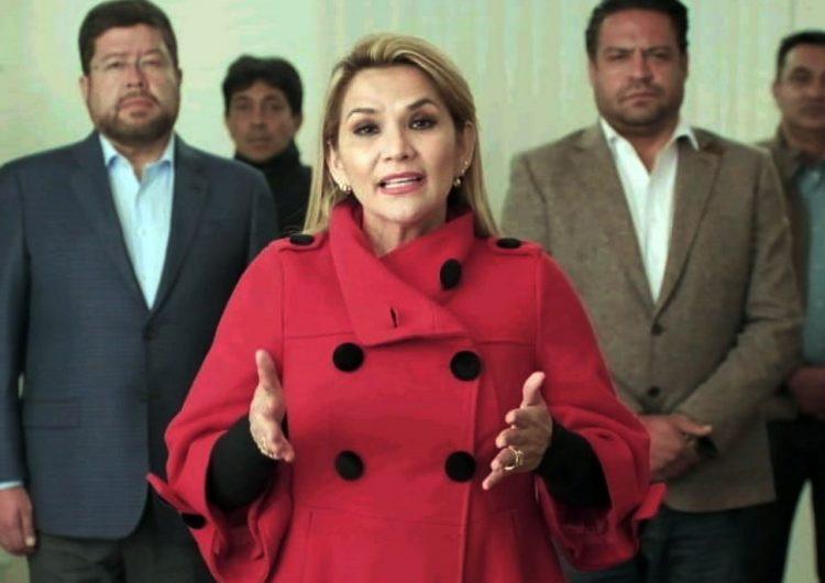 Asamblea de Bolivia aprueba un juicio de responsabilidades contra Jeanine Áñez y once de sus ministros