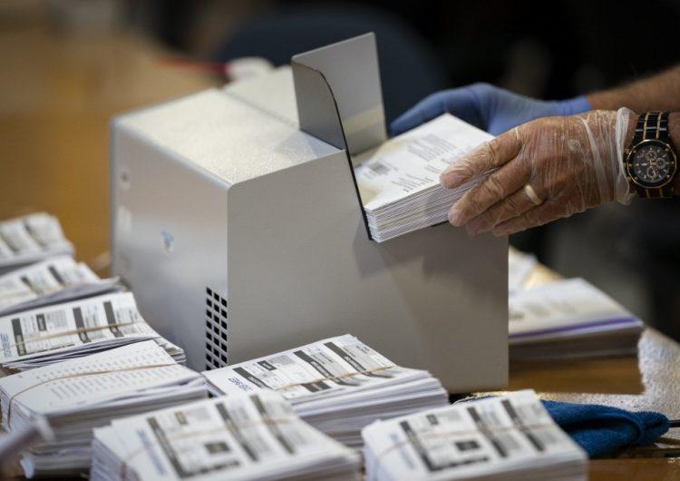 Casi siete millones de personas han votado por correo para las elecciones presidenciales de EU