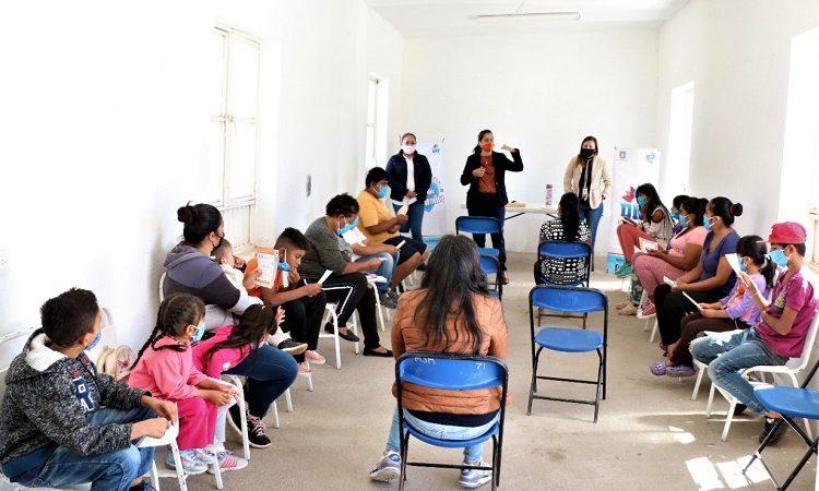 Lleva DIF Municipal talleres sobre prevención de adicciones a padres de familia de Jesús María
