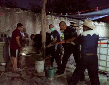 Rescatan a niño de 6 años que cayó a un pozo de 15 metros de profundidad en Tepezalá