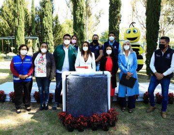 Ponen en marcha línea morada de reúso de agua al oriente del municipio de Aguascalientes