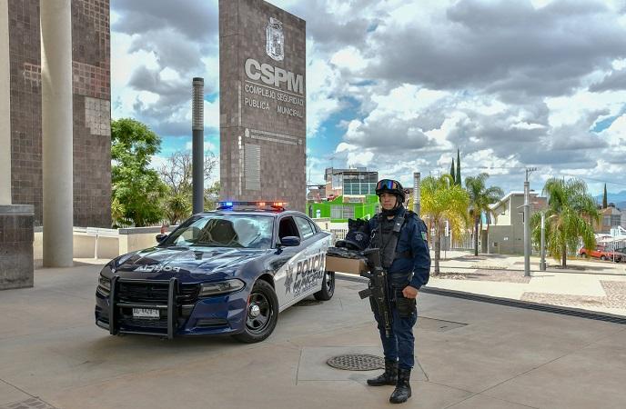 Destaca adquisición de 115 patrullas para el municipio de Aguascalientes en el último año