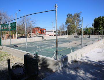 Entrega Ayuntamiento de Tijuana parque en delegación Sánchez Taboada