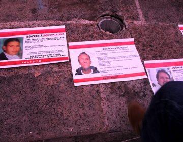Continúan desaparecidas 260 personas en Aguascalientes