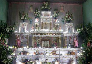 Aplican medidas sanitarias para visitar ofrendas monumentales de Tochimilco