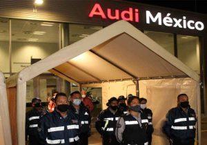 Ayuntamiento de San José Chiapa clausura planta Audi Puebla