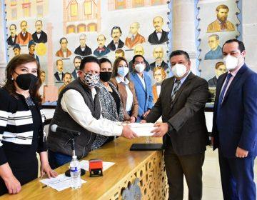 Entregó el municipio de Aguascalientes su ley de ingresos 2021 al Congreso Estatal