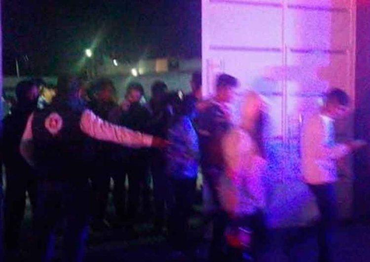Desalojaron a centenares de jóvenes de fiesta covid