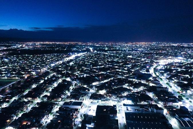 57 mil luminarias se han renovado en el municipio de Aguascalientes en 2020