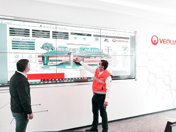 Refuerza Veolia coordinación con CCAPAMA en el municipio de Aguascalientes