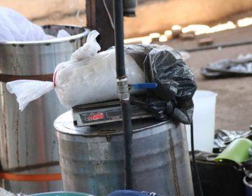 Ubican narcolaboratorio con más de 300 kg. de droga crystal en Aguascalientes
