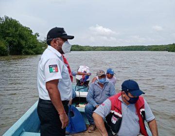 Lluvias intermitentes en Campeche