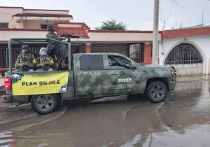 Despliega Ejército Plan DN III E en Yucatán