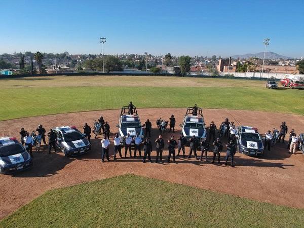 Entregan nuevas patrullas a la Policía Municipal de Jesús María