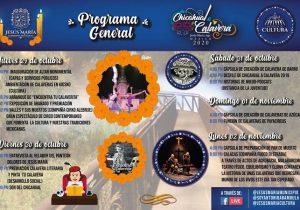 "Realizarán Festival Virtual ""De chicahual a calaveras"" en Jesús María"