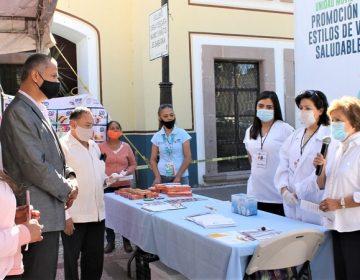 Concluye con éxito Feria de la Salud en el municipio de Jesús María