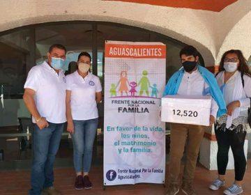 "Promueve Frente Nacional por la Familia iniciativa ciudadana ""provida"""