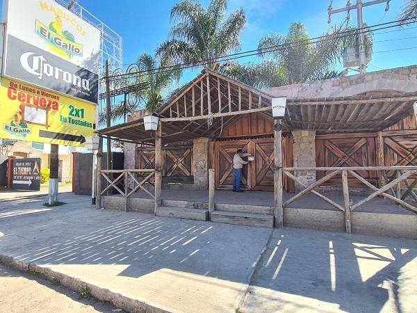 Clausura Guardia Sanitaria predio donde se realizaría fiesta de Día de Muertos en Aguascalientes