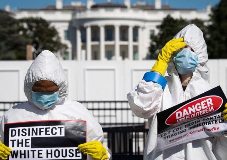 """Anthony Fauci afirma que acto en la Casa Blanca fue un """"evento de superpropagación"""" del coronavirus"""