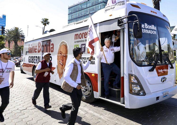 Premia Bonilla a morenistas que votaron contra Burgueño y Figueroa