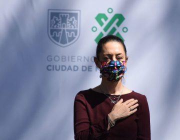 La jefa de gobierno de CDMX, Claudia Sheinbaum, da positivo a prueba de COVID-19