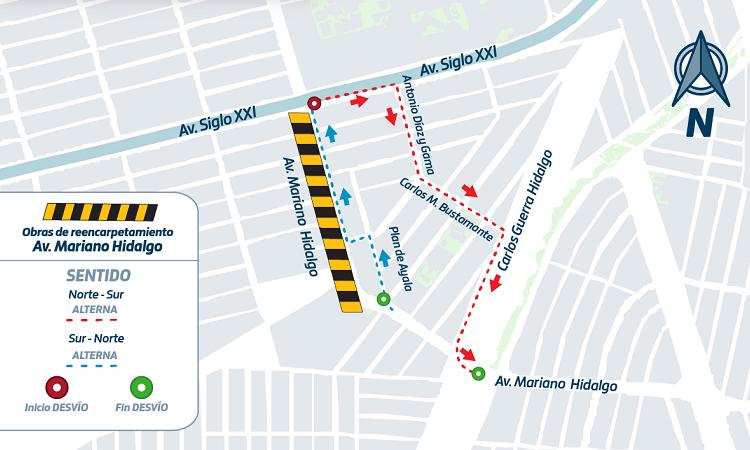 Modifican trayecto de cinco rutas de camiones urbanos en Aguascalientes