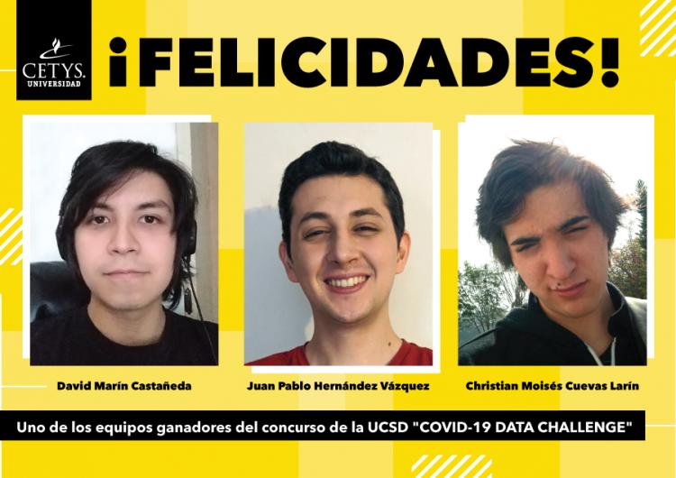 Estudiantes de CETYS ganan concurso de soluciones transfronterizas en tiempos de pandemia